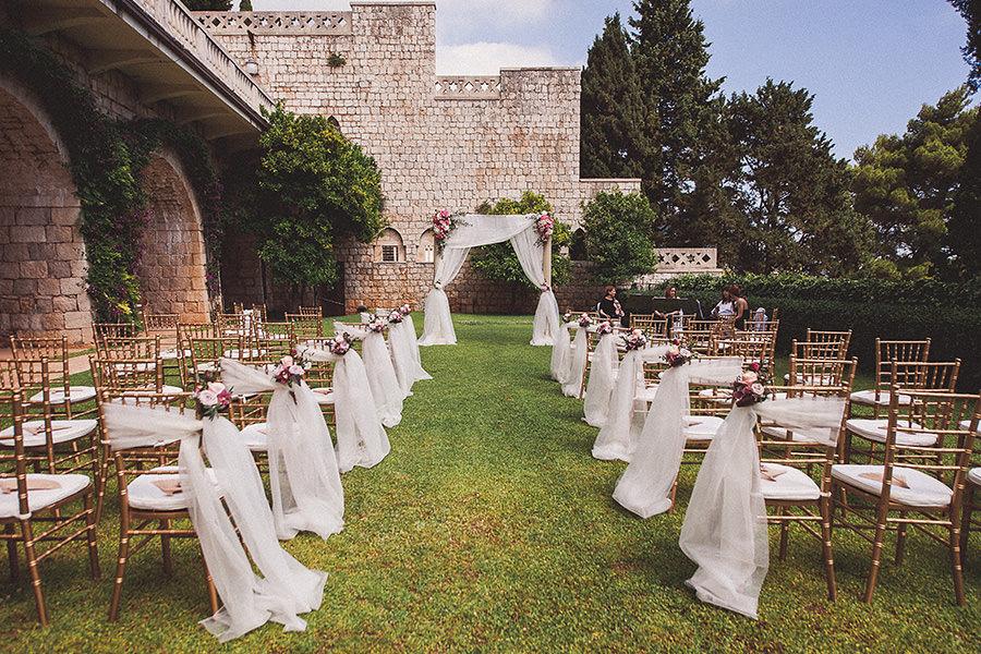 villa argentina dubrovnik wedding