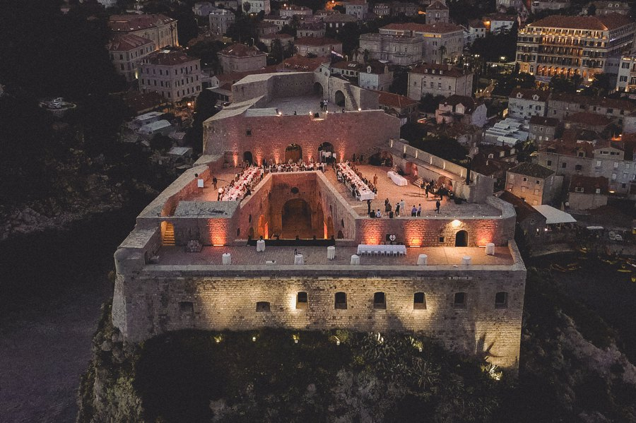 St. Lawrence Fortress Persian Wedding