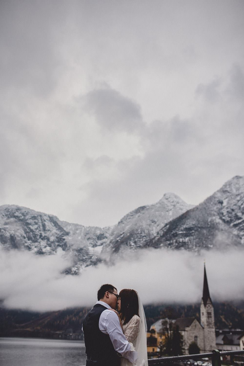 Austrian Alps elopement photographer