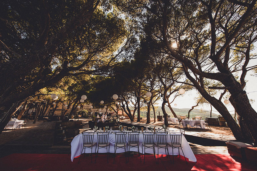 Wedding Venues Croatia - Fort George Vis