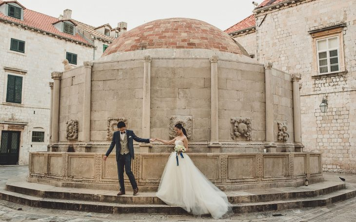 Dubrovnik pre-wedding photography