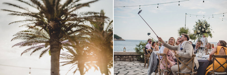 Palm Terrace Dubrovnik Wedding