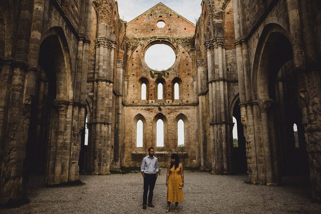 Abbey of San Galgano Wedding Photographer