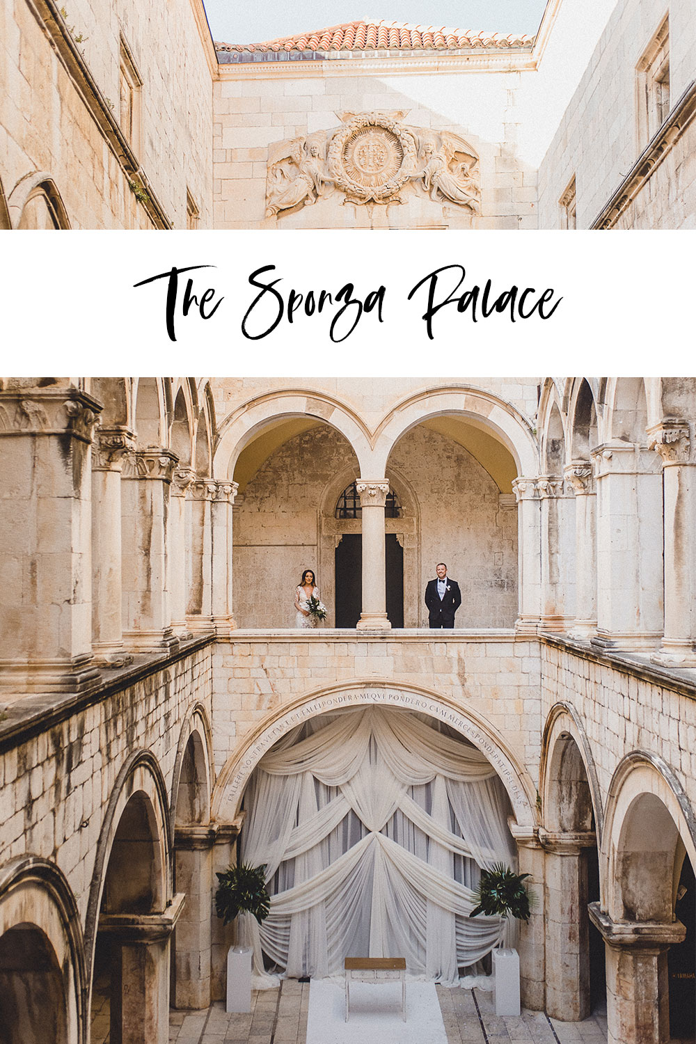 Dubrovnik Sponza Palace Wedding