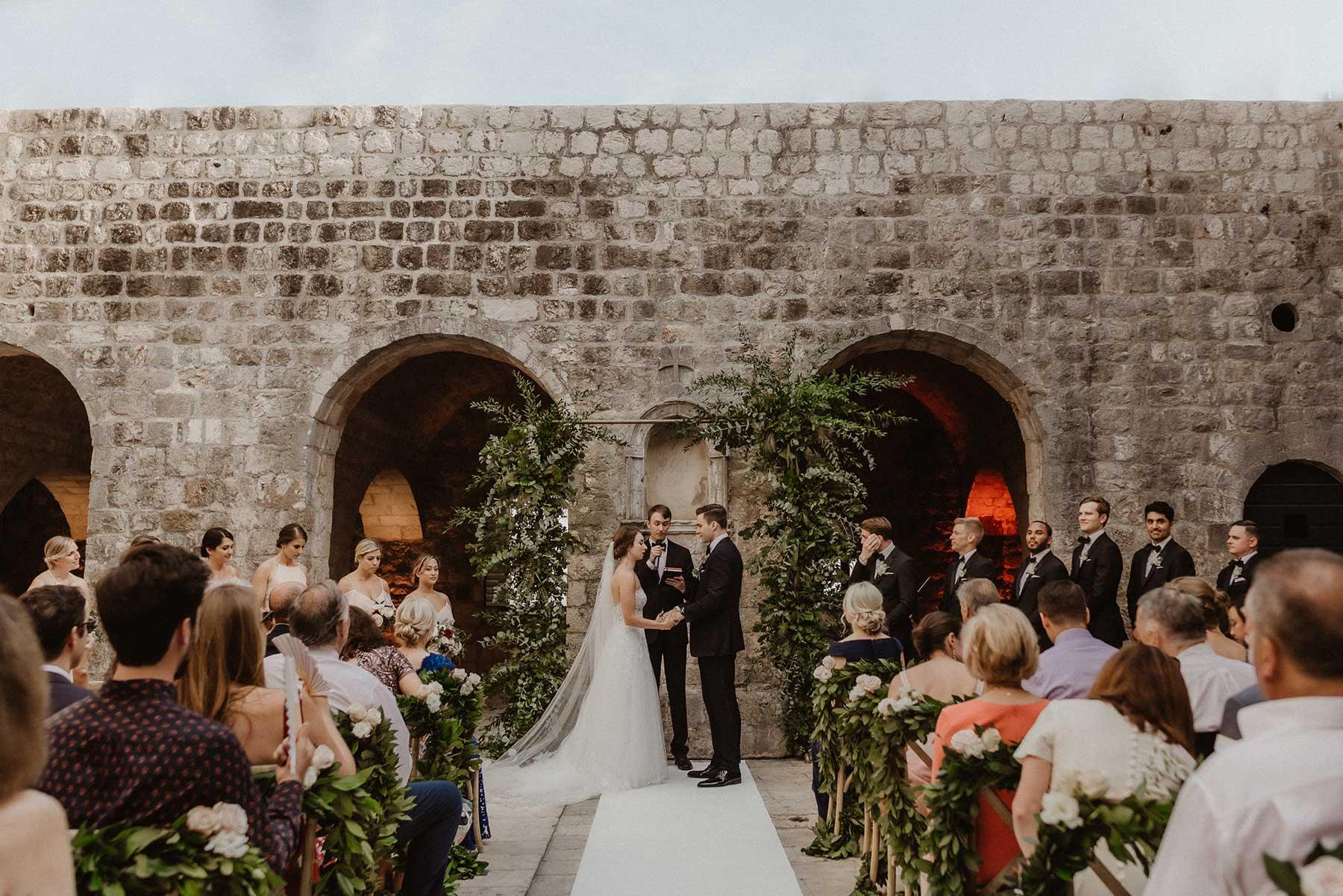 Fortress Lovrijenac Wedding